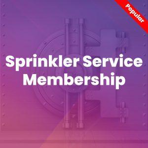 Sprinkler Service Membership