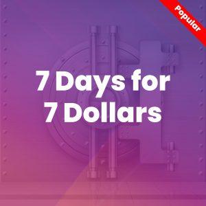 7 Days For 7 Dollars